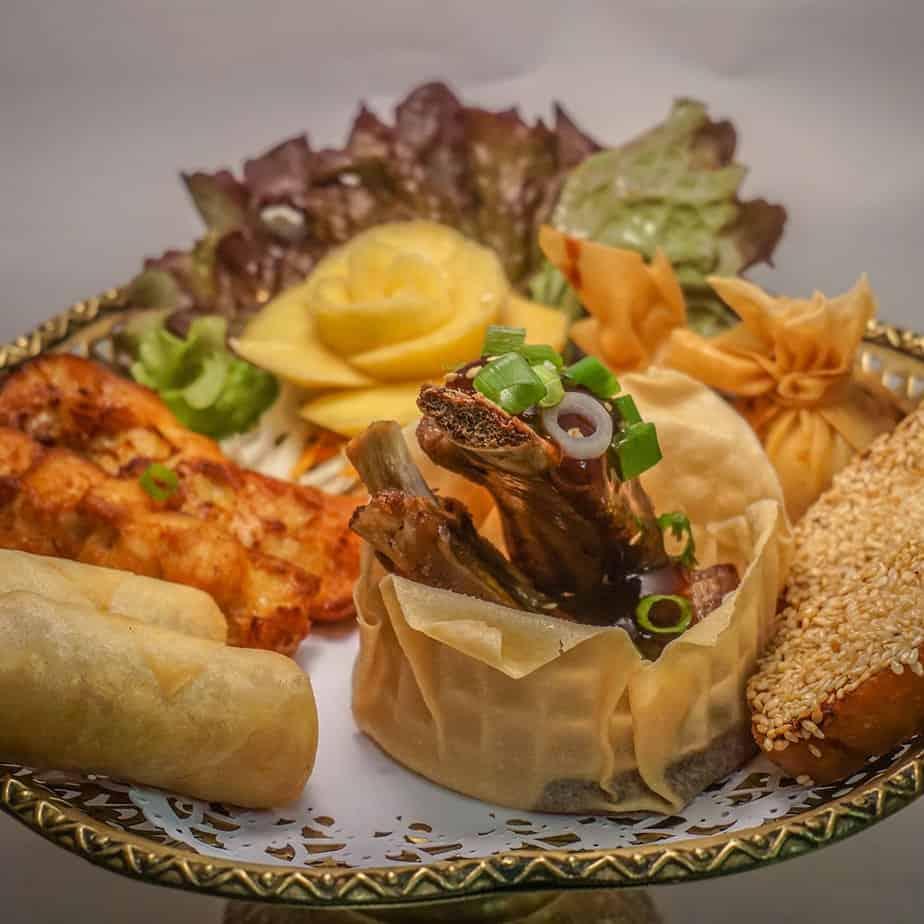 Boonnak Thai mixed starter
